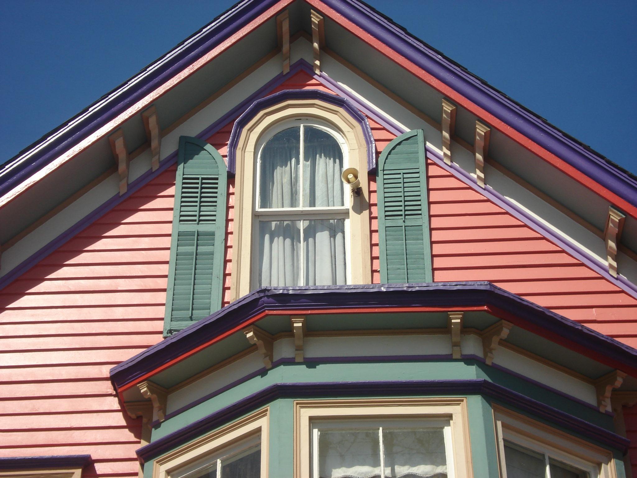 Exterior Victorian home restoration New Jersey - Montclair