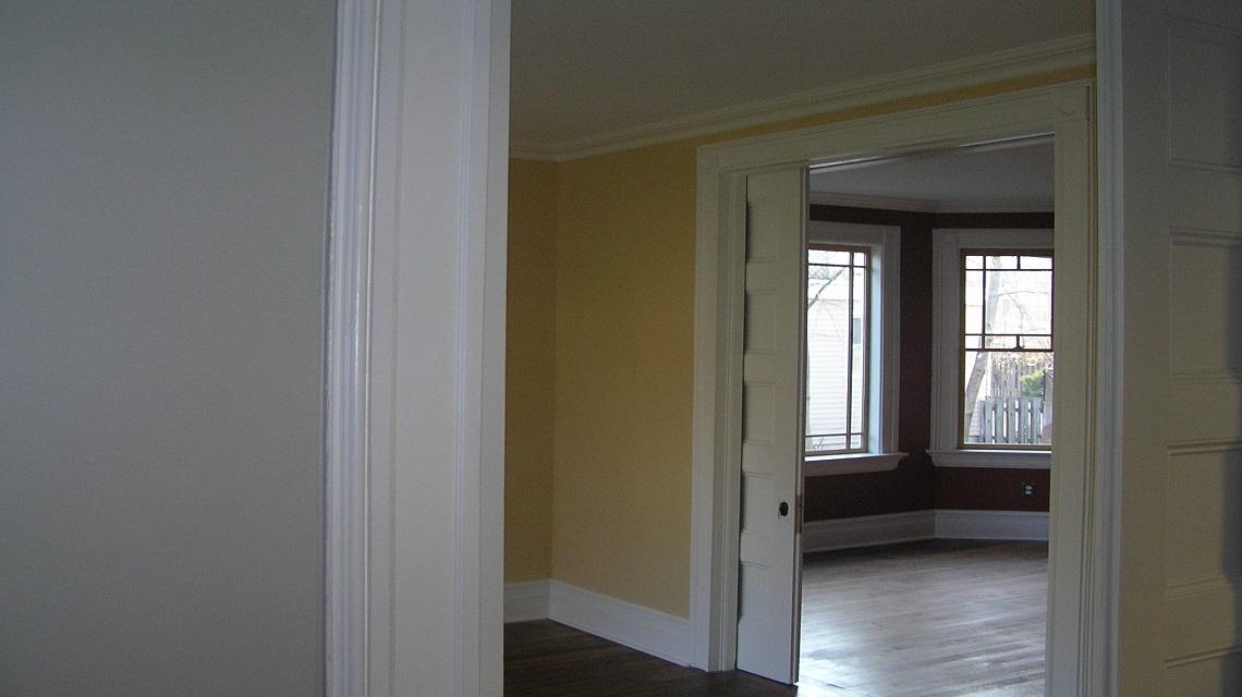 Gikas Painting - Interior Victorian Restoration