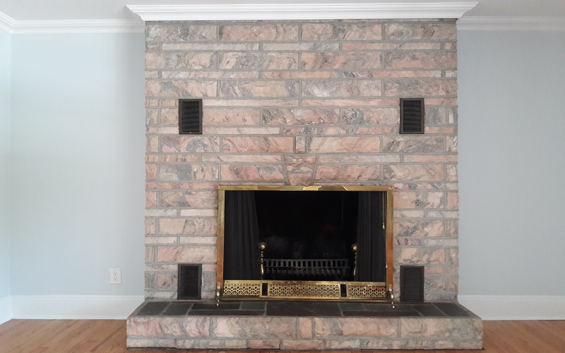 Fireplace Design by Gikas Painting & Contracting