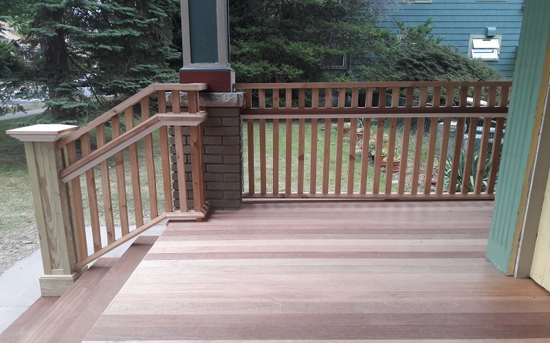 Porch in Maplewood by Gikas Painting & Contracting