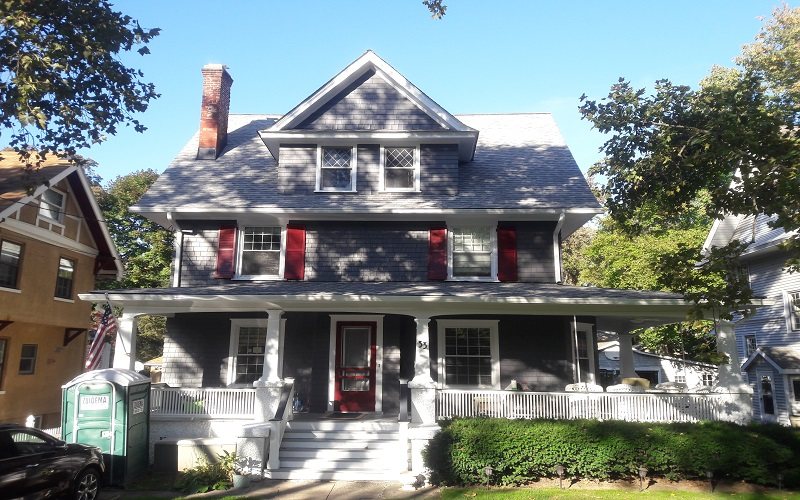 Exterior Painting in Ridgewood by Gikas Painting & Contracting