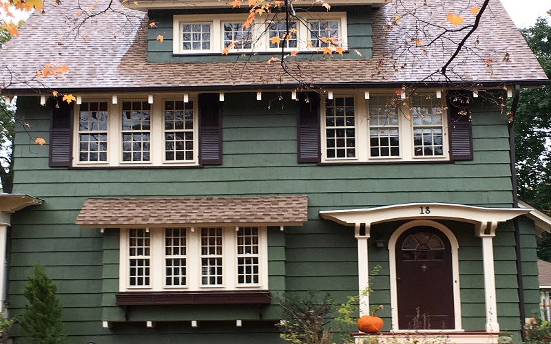 Exterior Painting in Cedar Grove by Gikas Painting & Contracting