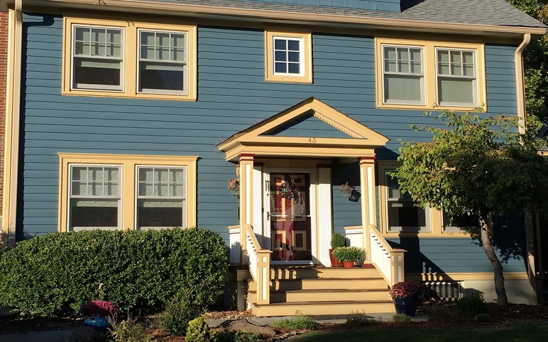 Exterior Painting in Clifton – By Gikas Painting & Contracting
