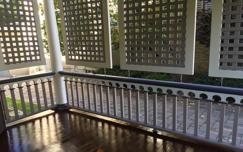 Victorian Porch redisigned by Gikas Painting & Contracting