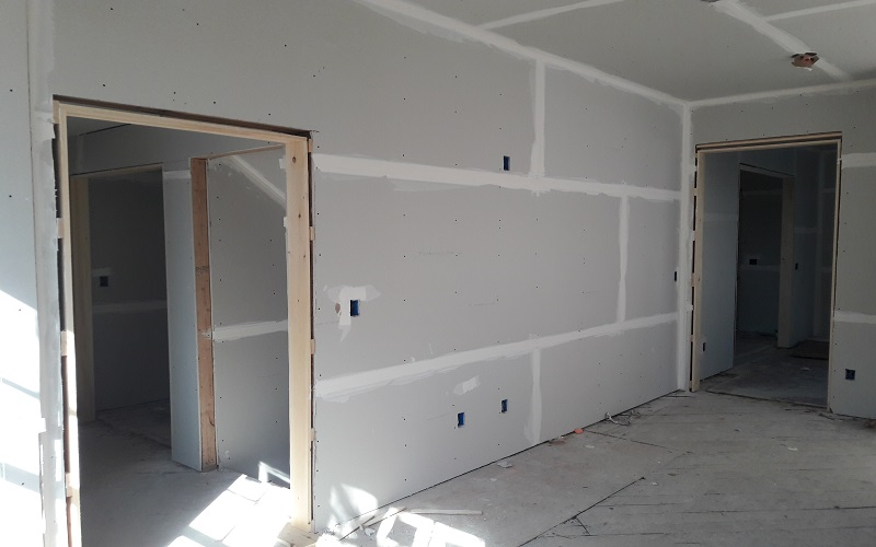 Sheetrock installation in Montclair NJ by Gikas Painting