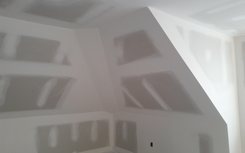 Sheetrock installation by Gikas Painting & Contracting!